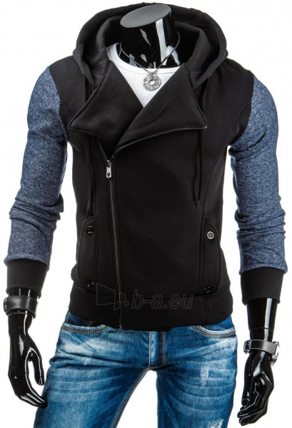 Vyriškas džemperis Vernon (Juodas) Paveikslėlis 1 iš 6 310820036893