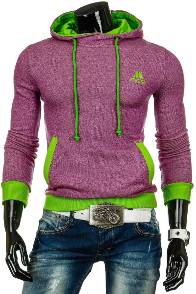 Vyriškas džemperis Victor (Rožinis) Paveikslėlis 1 iš 6 310820030756