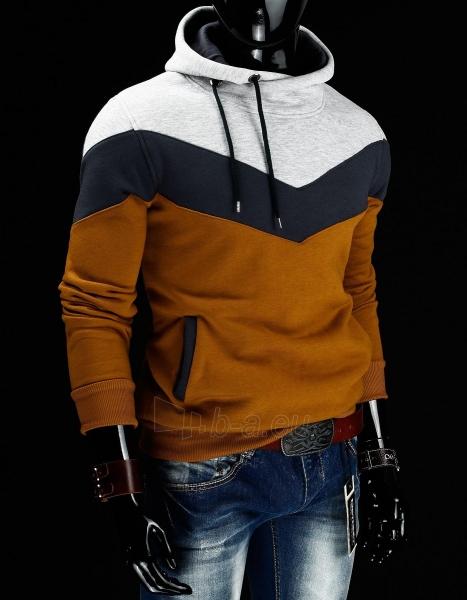 Vyriškas džemperis Willard (Rudas) Paveikslėlis 1 iš 6 310820030729