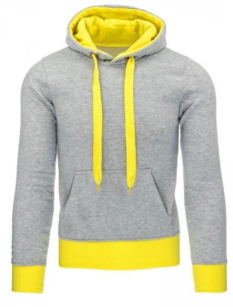 Vyriškas džemperis Zane (Pilka/Geltona) Paveikslėlis 1 iš 7 310820030715