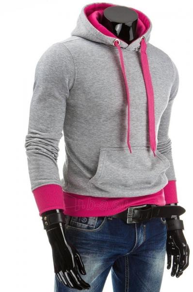 Vyriškas džemperis Zane (Pilka/Rožinė) Paveikslėlis 1 iš 6 310820030716
