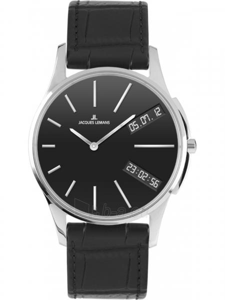 Male JACQUES LEMANS laikrodis 1-1813A Paveikslėlis 1 iš 2 310820089866