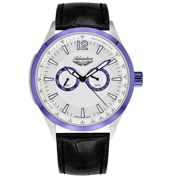 Vyriškas laikrodis Adriatica A8189.52B3QF Paveikslėlis 1 iš 1 30069609259