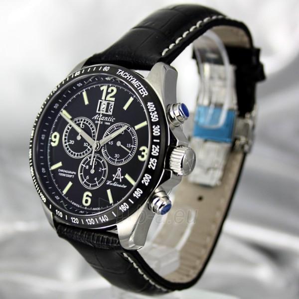 Vyriškas laikrodis ATLANTIC Worldmaster Big Date Chronograph 55460.47.66 Paveikslėlis 1 iš 8 30069610803