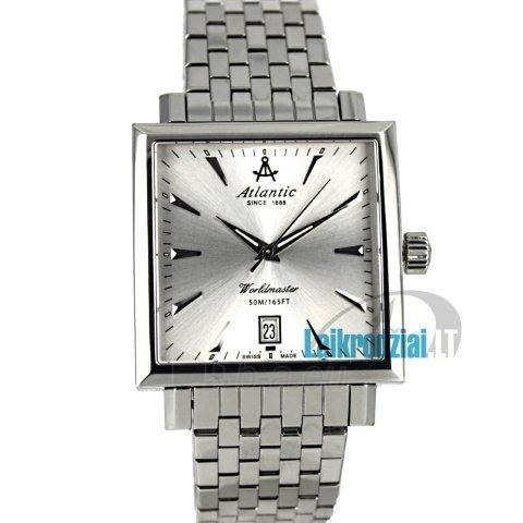 Vīriešu pulkstenis ATLANTIC Worldmaster Square 54355.41.21 Paveikslėlis 3 iš 7 30069605676