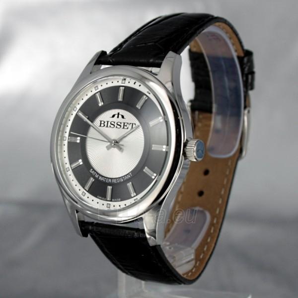 Male laikrodis BISSET Aneadam Steel BSCC41 MS WHBK BK Paveikslėlis 1 iš 7 310820018370