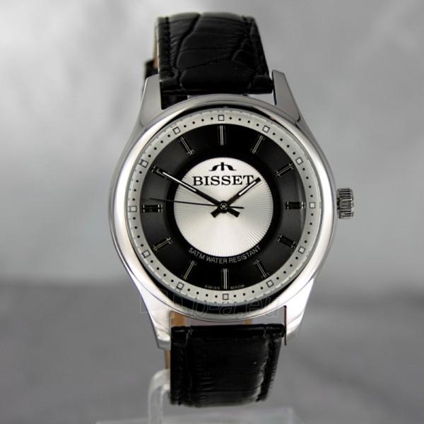 Male laikrodis BISSET Aneadam Steel BSCC41 MS WHBK BK Paveikslėlis 2 iš 7 310820018370