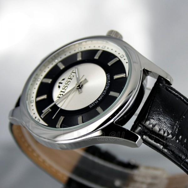 Male laikrodis BISSET Aneadam Steel BSCC41 MS WHBK BK Paveikslėlis 4 iš 7 310820018370