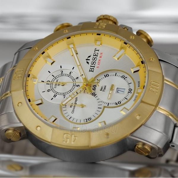 Vīriešu pulkstenis BISSET Argentum  BSDD90TISX05AX Paveikslėlis 3 iš 3 30069610805