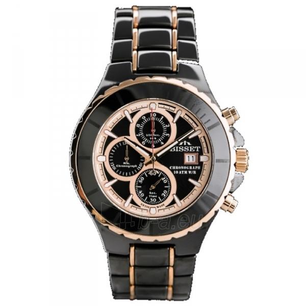Vīriešu pulkstenis BISSET Averto BSFE10BIBZ10AX Paveikslėlis 1 iš 5 310820008608