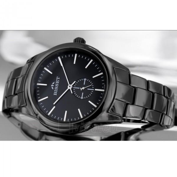 Vyriškas laikrodis BISSET Black BSFD66BIBW03BX Paveikslėlis 1 iš 9 310820008593