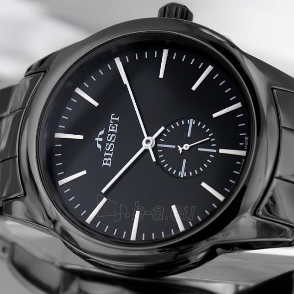 Vyriškas laikrodis BISSET Black BSFD66BIBW03BX Paveikslėlis 2 iš 9 310820008593