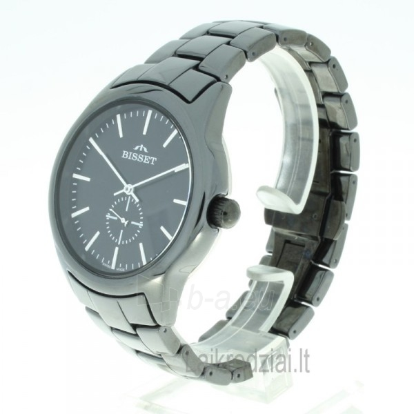 Vyriškas laikrodis BISSET Black BSFD66BIBW03BX Paveikslėlis 4 iš 9 310820008593