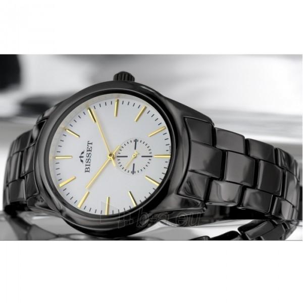Vīriešu pulkstenis BISSET Black BSFD66BISG03BX Paveikslėlis 1 iš 8 30069605692