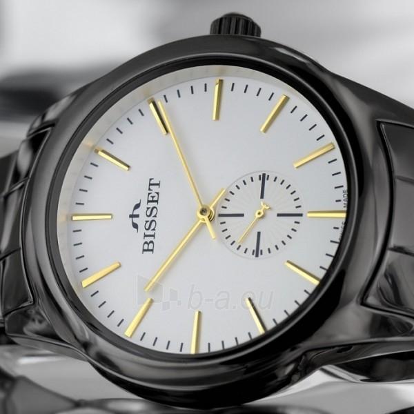 Vyriškas laikrodis BISSET Black BSFD66BISG03BX Paveikslėlis 2 iš 8 30069605692