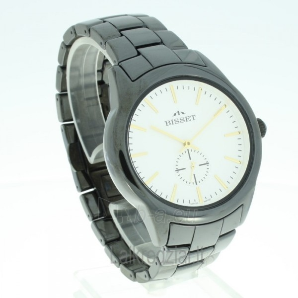Vyriškas laikrodis BISSET Black BSFD66BISG03BX Paveikslėlis 8 iš 8 30069605692