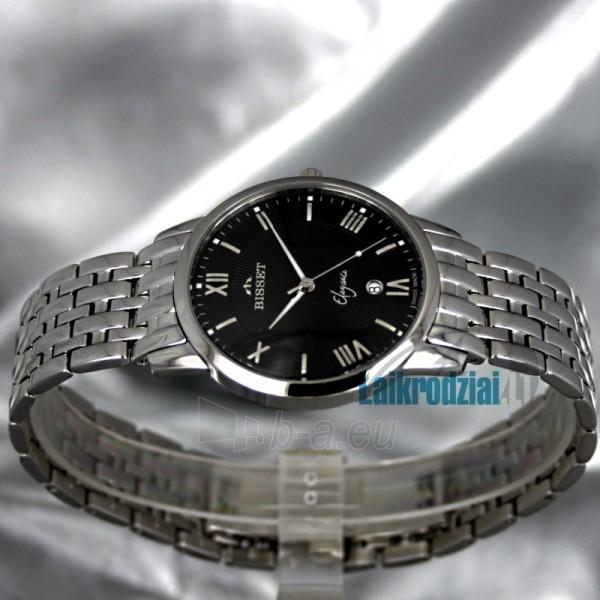 Vyriškas laikrodis BISSET Blanche BS25A99 MS BK Paveikslėlis 2 iš 7 30069605694