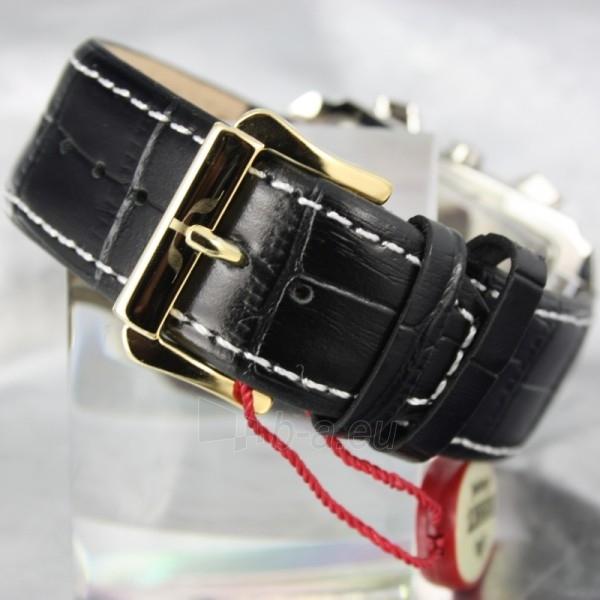 Vyriškas laikrodis BISSET BURION BSCD14 MTT WH BK Paveikslėlis 3 iš 7 310820008981