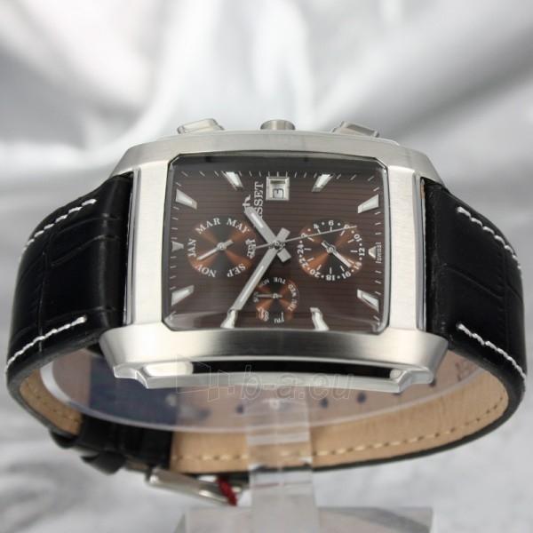 Vyriškas laikrodis BISSET BURION BSCD14SIYX Paveikslėlis 6 iš 7 30069605700