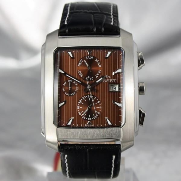 Vyriškas laikrodis BISSET BURION BSCD14SIYX Paveikslėlis 7 iš 7 30069605700