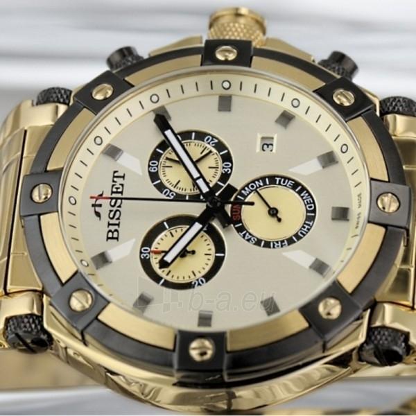 Vyriškas laikrodis BISSET Concordia BSDC77GIGX05AX Paveikslėlis 2 iš 2 30069605709