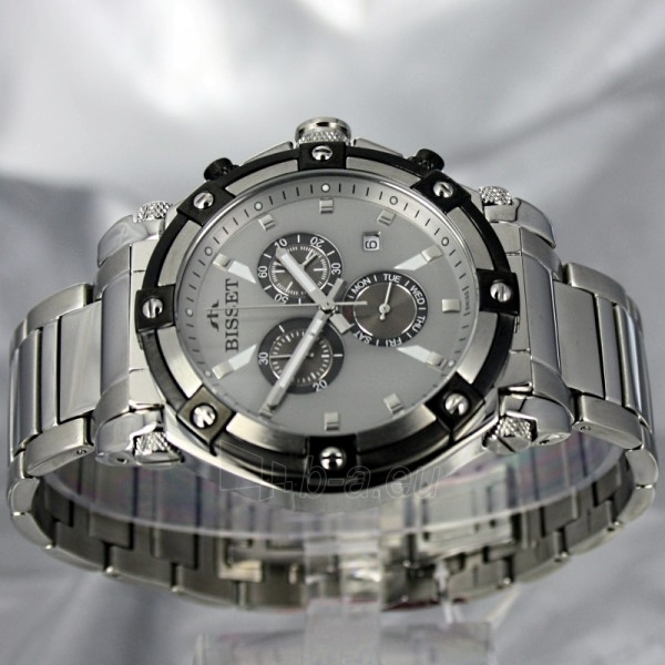 Male laikrodis BISSET Concordia BSDC77SISY Paveikslėlis 3 iš 7 30069606695