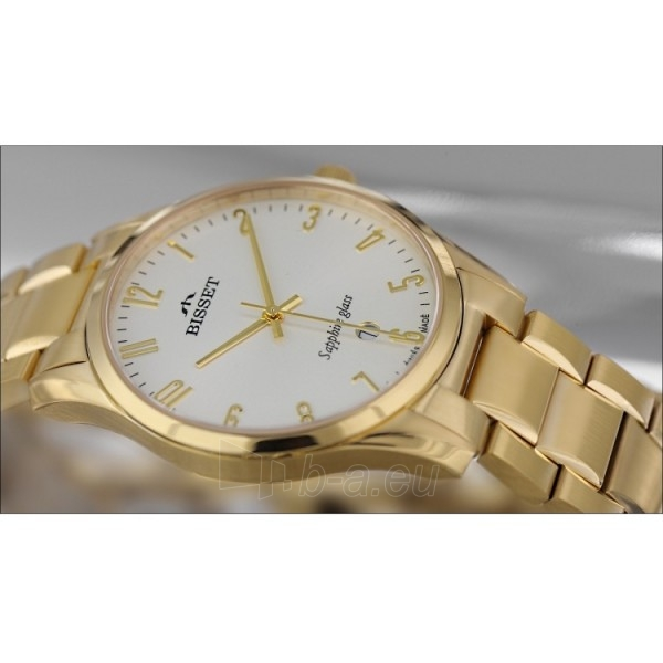 Vyriškas laikrodis BISSET Crystal II BSDX17GASX05BX Paveikslėlis 1 iš 9 30069605716