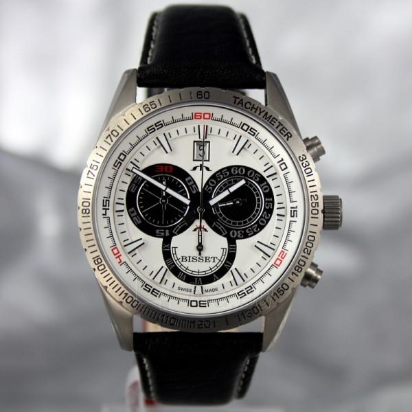 Men's watch BISSET Cyklon BSCC74TIWHBK (BSCC74DISB) Paveikslėlis 2 iš 7 30069605719