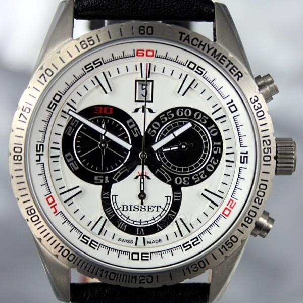 Men's watch BISSET Cyklon BSCC74TIWHBK (BSCC74DISB) Paveikslėlis 5 iš 7 30069605719