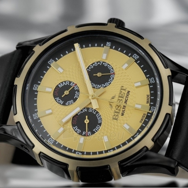 Male laikrodis BISSET Dancer BSCC27TIGB05BX Paveikslėlis 2 iš 3 310820008983