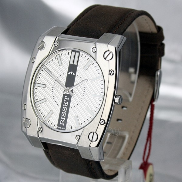 Men's watch BISSET Eleven M6M BSCC82 MS WHB BR Paveikslėlis 1 iš 8 30069605782