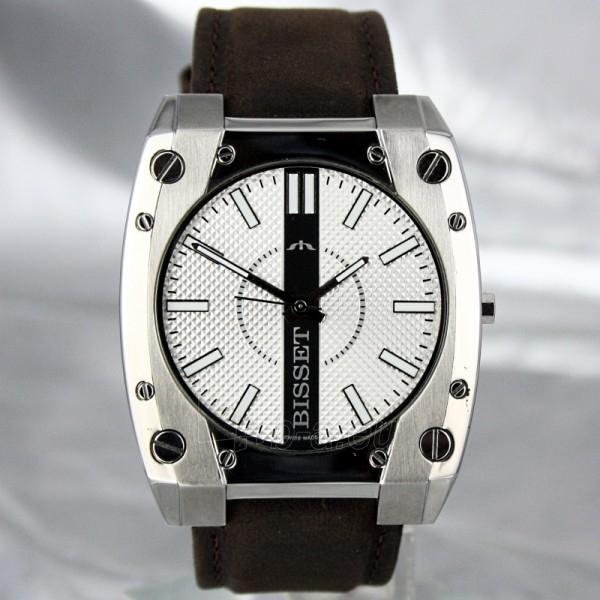 Men's watch BISSET Eleven M6M BSCC82 MS WHB BR Paveikslėlis 5 iš 8 30069605782