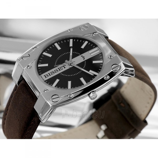 Men's watch BISSET Eleven M6M BSCC82MSBKWBR Paveikslėlis 1 iš 2 30069605783