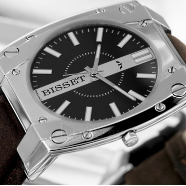 Men's watch BISSET Eleven M6M BSCC82MSBKWBR Paveikslėlis 2 iš 2 30069605783