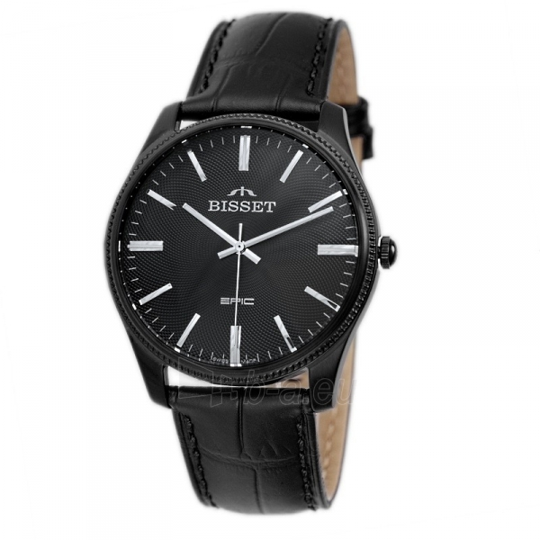 Vyriškas laikrodis BISSET EPIC BSCE55BIBX05BX Paveikslėlis 1 iš 5 310820117067
