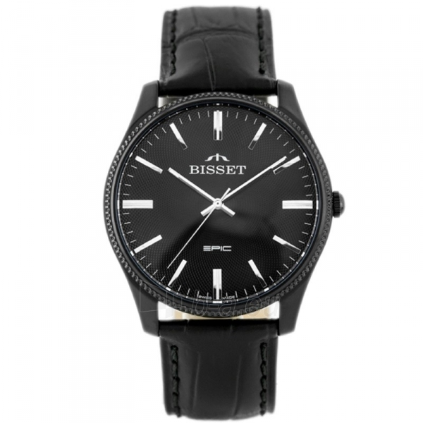 Vyriškas laikrodis BISSET EPIC BSCE55BIBX05BX Paveikslėlis 2 iš 5 310820117067