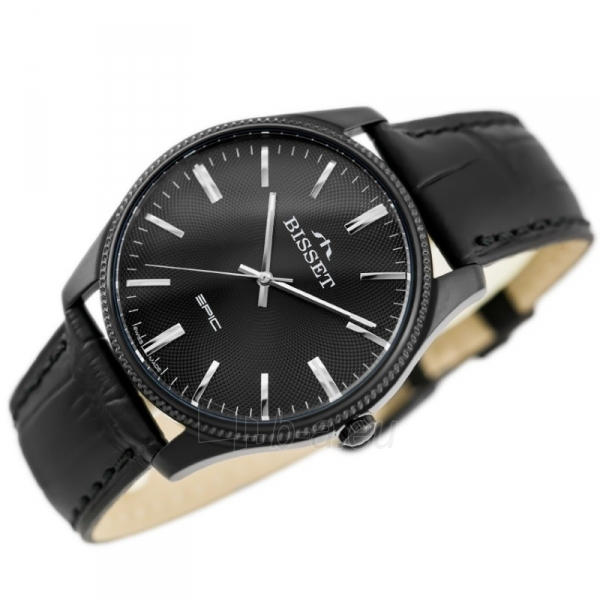 Vyriškas laikrodis BISSET EPIC BSCE55BIBX05BX Paveikslėlis 4 iš 5 310820117067
