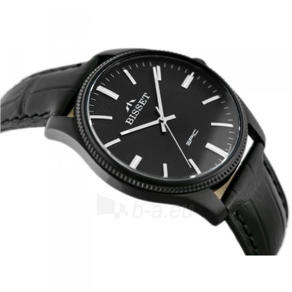 Vyriškas laikrodis BISSET EPIC BSCE55BIBX05BX Paveikslėlis 5 iš 5 310820117067