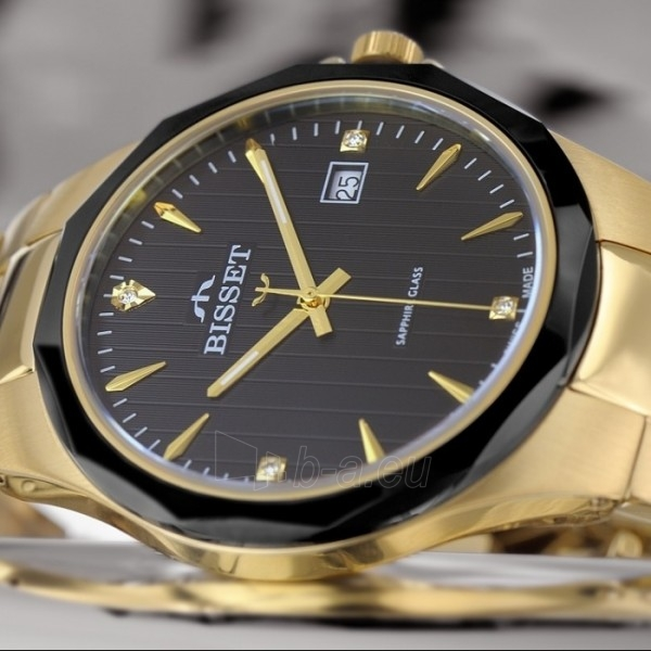 Men's watch BISSET Hardy BSDD62GIBG05BX Paveikslėlis 2 iš 7 30069605799