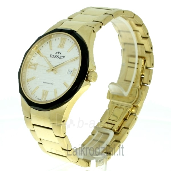 Vyriškas laikrodis BISSET Hardy BSDD62GWSG05BX Paveikslėlis 4 iš 9 30069605801