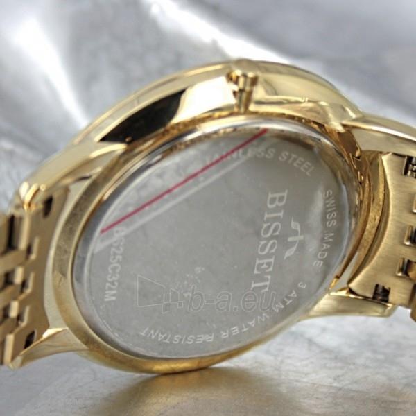 Vyriškas laikrodis BISSET Malibu Gents BS25C32 MG WH Paveikslėlis 7 iš 7 30069605811