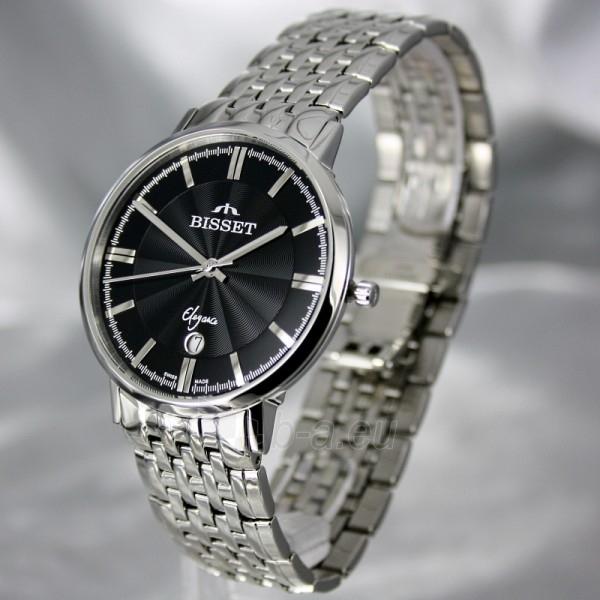 Vyriškas laikrodis BISSET Malibu Gents BSDC89 MS BK Paveikslėlis 1 iš 6 30069605812