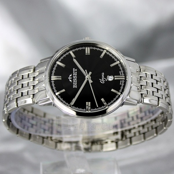Vyriškas laikrodis BISSET Malibu Gents BSDC89 MS BK Paveikslėlis 3 iš 6 30069605812