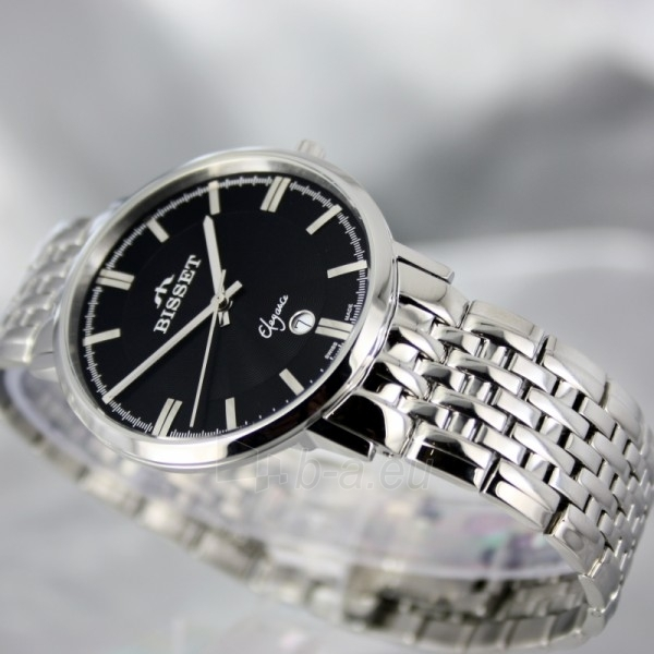 Vyriškas laikrodis BISSET Malibu Gents BSDC89 MS BK Paveikslėlis 4 iš 6 30069605812