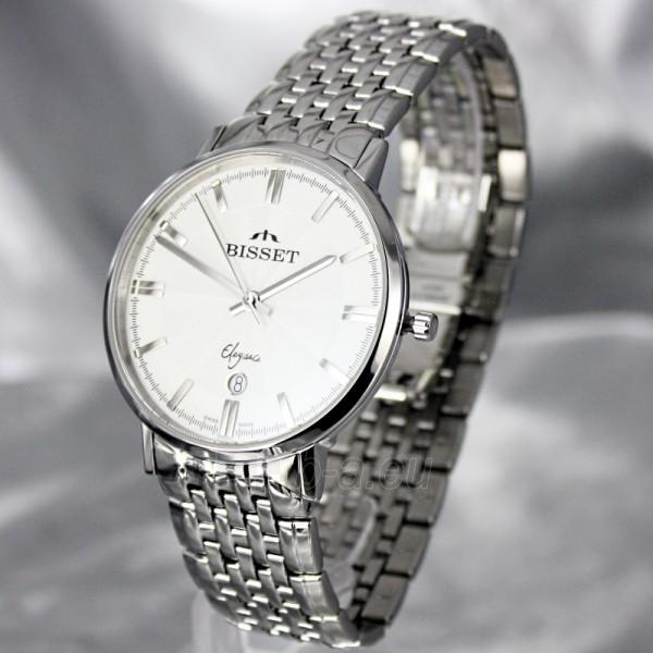 Vyriškas laikrodis BISSET Malibu Gents BSDC89 MS WH Paveikslėlis 1 iš 7 30069605813