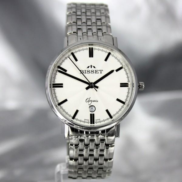 Vyriškas laikrodis BISSET Malibu Gents BSDC89 MS WH Paveikslėlis 2 iš 7 30069605813