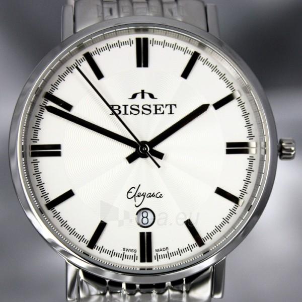 Vyriškas laikrodis BISSET Malibu Gents BSDC89 MS WH Paveikslėlis 5 iš 7 30069605813