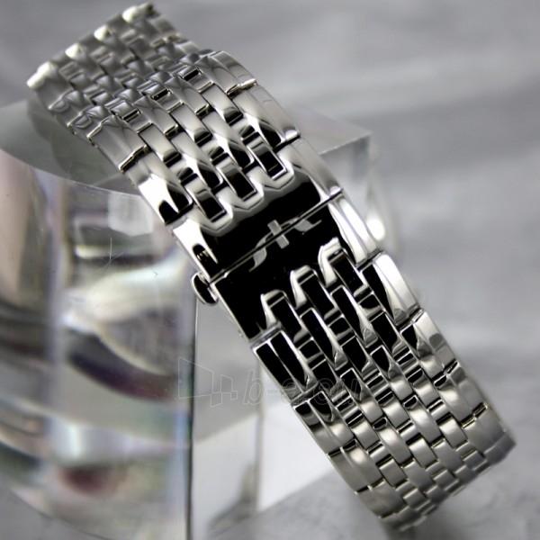 Vyriškas laikrodis BISSET Malibu Gents BSDC89 MS WH Paveikslėlis 6 iš 7 30069605813