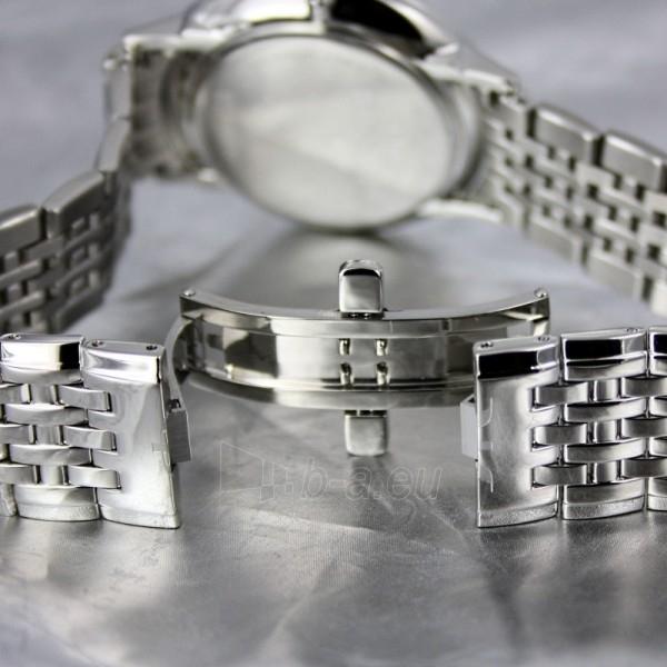 Vyriškas laikrodis BISSET Malibu Gents BSDC89 MS WH Paveikslėlis 7 iš 7 30069605813