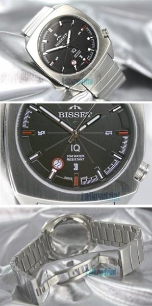 Men's watch BISSET Mateplate XB2DB41SIBR05BX Paveikslėlis 2 iš 9 30069605815